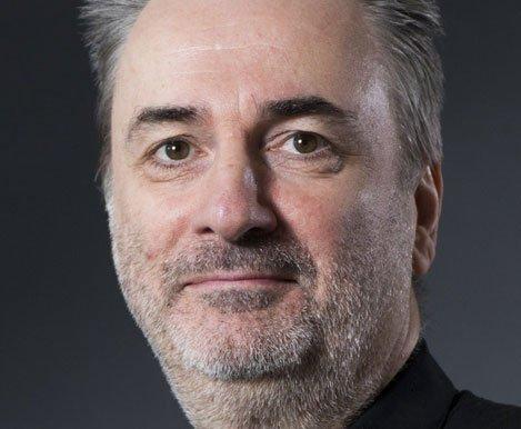 Paul Morley, narrating in Rebel Rebel