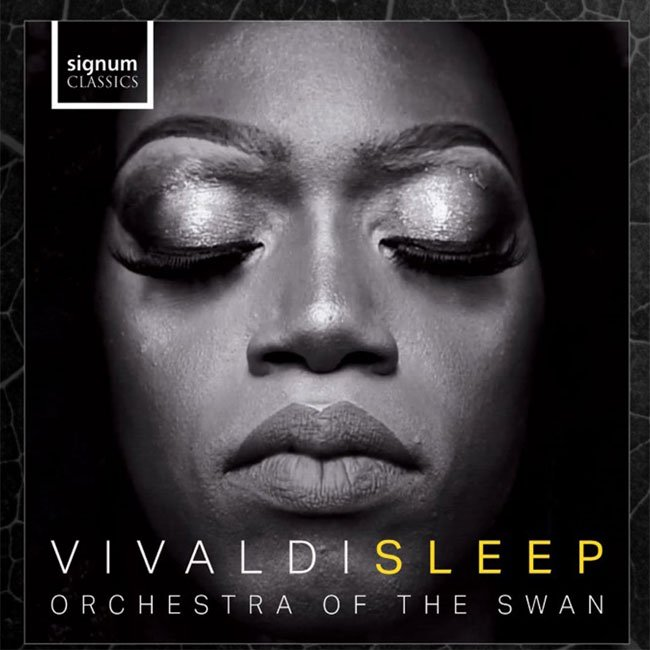 Vivaldi Sleep Album cover from orchestra of the swan