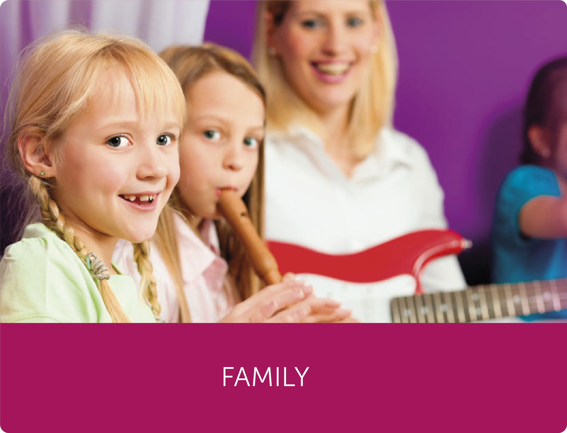 Find out about our Family programmes
