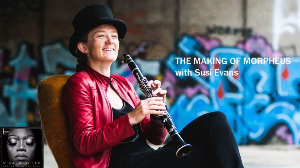Susi Evans' talks about Morpheus on the Swan's Vivaldi Sleep album