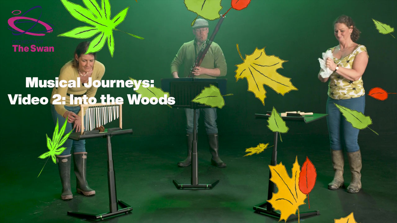 Video 2 Musical Journals into the woods